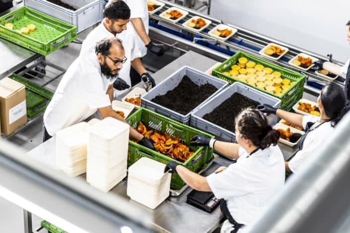 Food packaging vikarer samarbejder